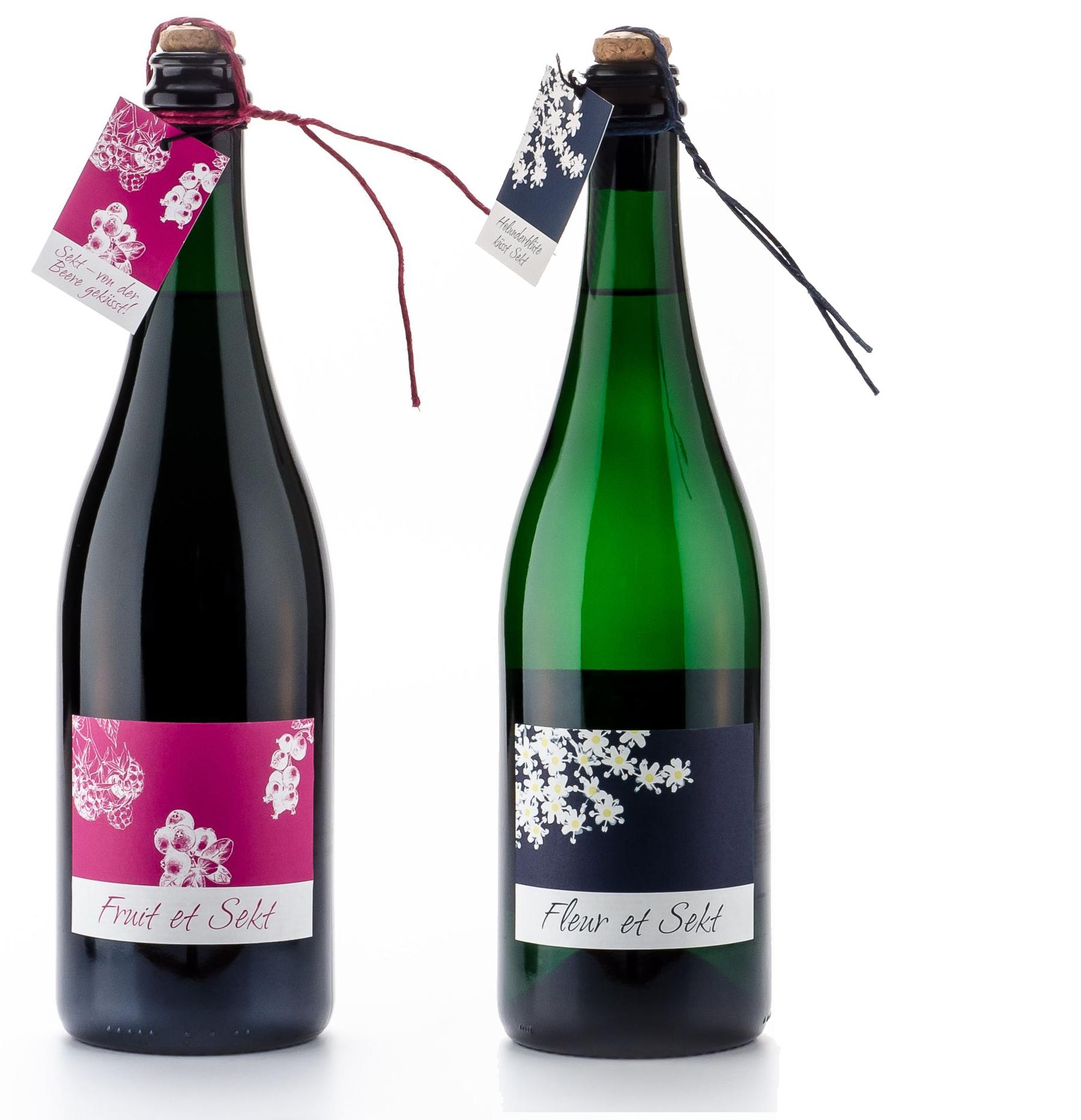 Produktgestaltung 2012: Fruit et Sekt / Fleur et Sekt