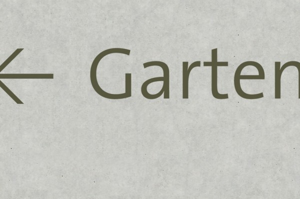 Signaletik Frei Architekten Gais Aarau