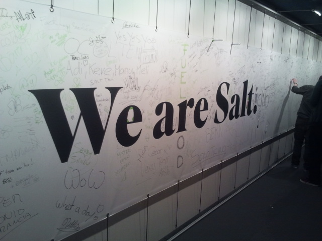 We are Salt.