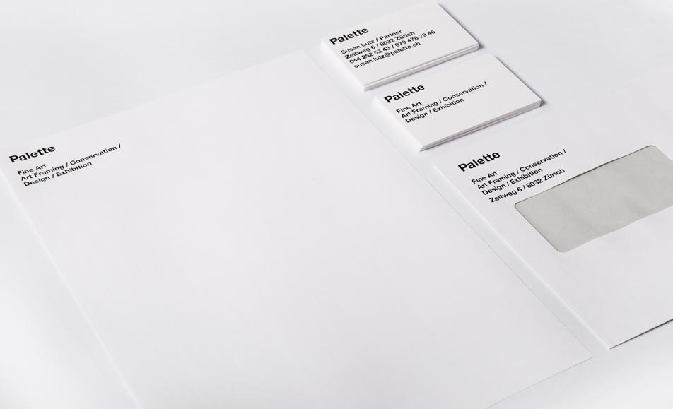 Palette Zürich Briefschaften