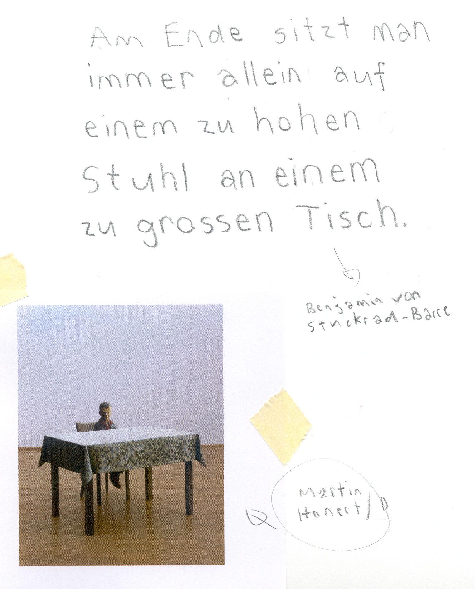 Benjamin von Stuckrad-Barre; Martin Honert