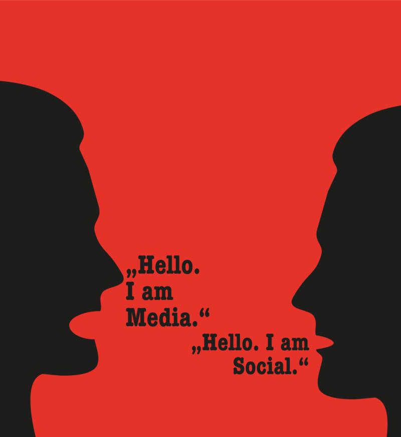 Social oder media, social media