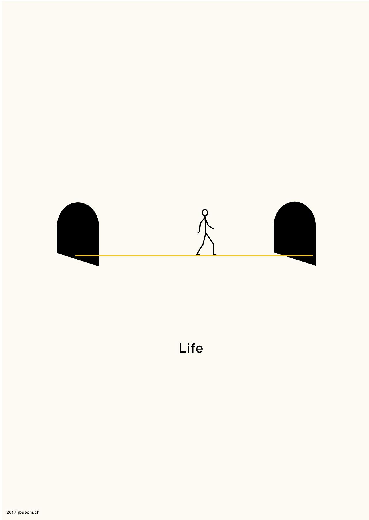 "Infografik ""Life"""