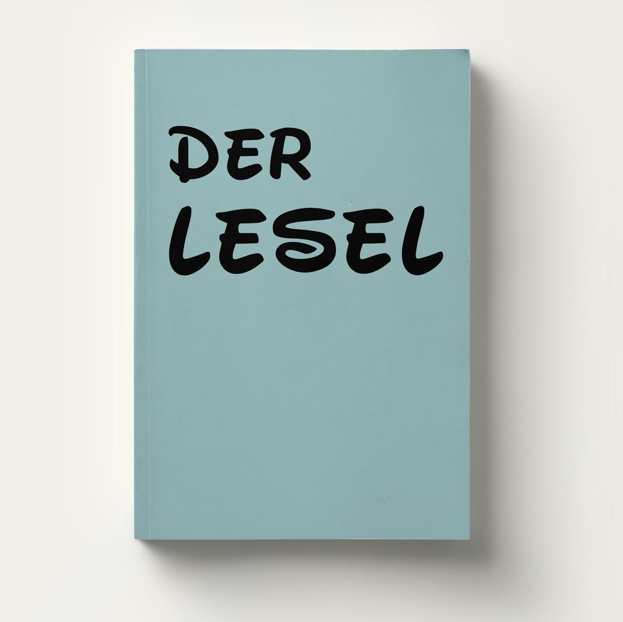 Grafik, Der Lesel, jbuechi.ch