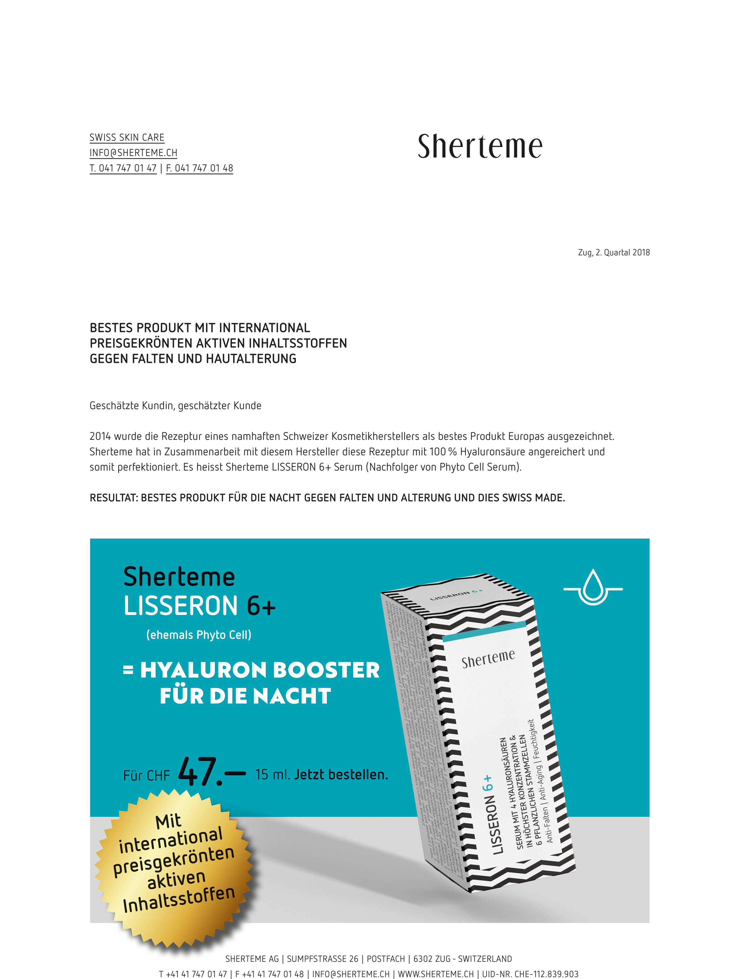 Sherteme Lisseron 6+ Mailing